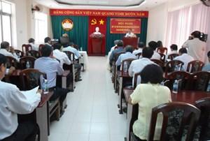 Khánh Hòa: Góp ý dự thảo văn kiện Đại hội Đảng toàn quốc lần XII