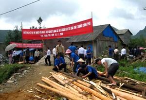 Lào Cai:  Hỗ trợ 74 hộ nghèo xóa nhà tạm