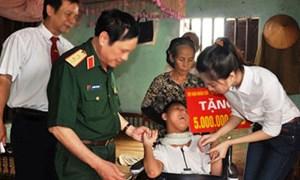 Nam Định: Gần 1,6 tỷ đồng hỗ trợ nạn nhân độc da cam/đi-ô-xin