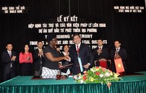 Ngân hàng Thế giới tài trợ cho Việt Nam gần 200 triệu USD