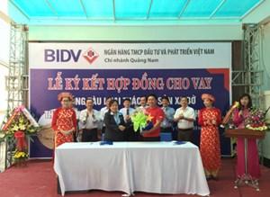 Ngư dân đầu tiên tại tỉnh Quảng Nam được vay vốn đóng tàu vỏ thép đánh bắt xa bờ theo Nghị định 67/2014/NĐ-CP
