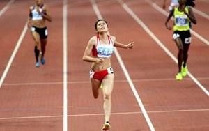 Nguyễn Thị Huyền tham dự giải điền kinh vô địch thế giới 2015