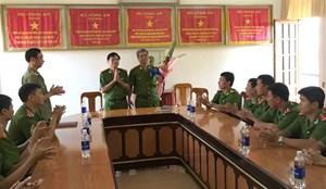 Quảng Bình: Khen thưởng Ban chuyên án Công an Đồng Hới