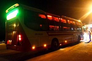 Quảng Bình: Xử phạt xe khách giường nằm chở quá 25 người so với quy định