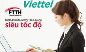 Sử dụng FTTH của Viettel được tri ân phần mềm diệt virus