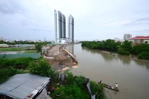 TP. HCM: Xử lý vụ lấp rạch làm dự án bất động sản