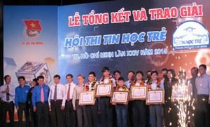 TP. Hồ Chí Minh: Tổng kết và trao giải Hội thi Tin học trẻ