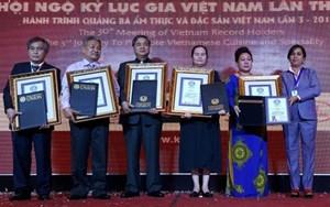 Việt Nam được công nhận thêm 5 kỷ lục thế giới