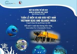 Khẩu hiệu tuyên truyền Tuần lễ Biển và Hải đảo Việt Nam và Ngày Đại dương Thế giới 2020