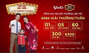 100 tỷ đồng tri ân chủ thẻ VinID trong '365 ngày vui'