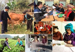 Hướng tới hỗ trợ người dân giảm nghèo bền vững