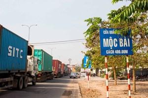 Xuất khẩu tại biên giới Việt Nam – Campuchia: Tăng trưởng tương đối tốt