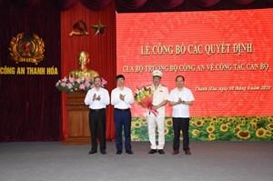 Cục phó Cục An ninh mạng làm Giám đốc Công an tỉnh Thanh Hóa