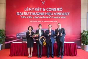 VinFast công bố Ngô Thanh Vân là đại sứ thương hiệu