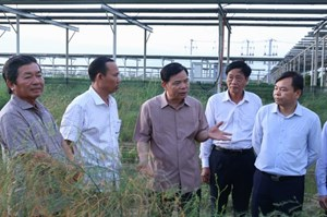 Ninh Thuận: Nhanh chóng thi công đưa hệ thống thủy lợi Tân Mỹ vào hoạt động