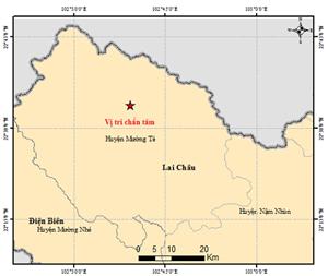 Sập trần trường mầm non Mường Tè do động đất, 4 trẻ bị thương