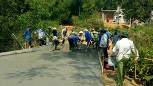 Vĩnh Tường (Vĩnh Phúc): 97% người dân được lấy ý kiến hài lòng với kết quả xây dựng nông thôn mới