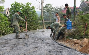 Phù Yên (Sơn La): Hội viên, nông dân hiến hơn 60 nghìn m2 xây dựng nông thôn mới