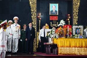 Lãnh đạo Đảng, Nhà nước, MTTQ Việt Nam viếng nhà tình báo huyền thoại Trần Quốc Hương