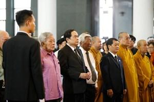 Hình ảnh lãnh đạo Đảng, Nhà nước, MTTQ Việt Nam viếng ông Vũ Mão