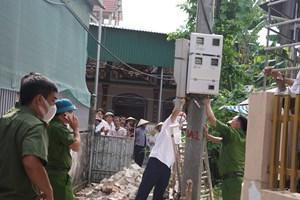 Hà Nam: Điện giật làm 3 người trong gia đình thương vong