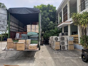 Quảng Nam: Tạm giữ nhiều hàng hóa không rõ nguồn gốc