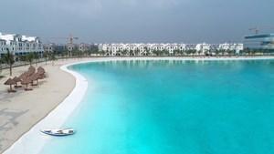 Vinhomes Ocean Park đạt kỷ lục 'Khu đô thị có biển hồ nước mặn và hồ nước ngọt nhân tạo trải cát trắng lớn nhất thế giới'