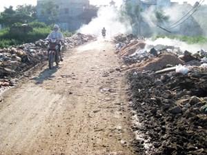 Báo động ô nhiễm làng nghề