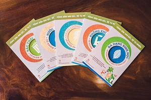 Ra mắt 2 bộ sách về môi trường dành cho thiếu nhi