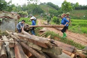 Tân Sơn (Phú Thọ): Chung sức với người nghèo