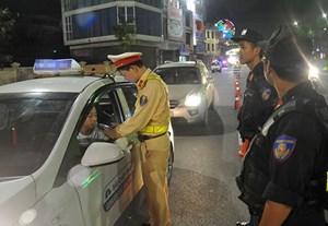 Cảnh sát giao thông xử lý 18.022 trường hợp vi phạm nồng độ cồn
