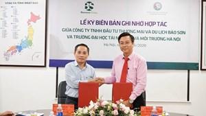 Tập đoàn Bảo Sơn và ĐH Tài nguyên Môi trường Hà Nội ký hợp tác đào tạo