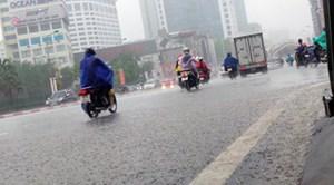 Tuần này, hầu hết các khu vực trên toàn quốc có mưa dông