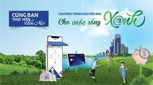 BIDV khuyến mại lớn nhất trong năm 'Cho cuộc sống xanh'