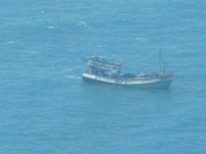 Tìm kiếm tàu cá của ngư dân Quảng Trị mất tích trên biển