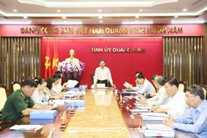 Chuẩn bị toàn diện, sẵn sàng tổ chức Đại hội Đảng bộ Than Quảng Ninh