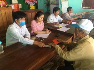Mai Sơn (Sơn La): Hoàn thành chi trả đợt 1 hỗ trợ người dân bị ảnh hưởng bởi dịch Covid-19