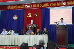 Khánh Hòa: Tiếp xúc cử tri 9 xã, phường thuộc TP Nha Trang