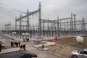 Mốc đóng điện ngược tại hạng mục sân phân phối của Dự án Thái Bình 2