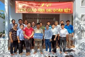 Trà Vinh: Hỗ trợ xây dựng 175 nhà Đại đoàn kết cho hộ nghèo