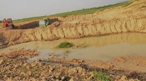 Tân Kỳ - Nghệ An: Rầm rộ khai thác đất trái phép