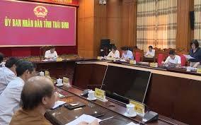 Thái Bình: Trình HĐND tỉnh xem xét miễn, giảm 17 khoản phí, 6 khoản lệ phí