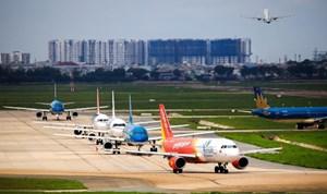 Hơn 2,8 triệu khách đi máy bay trong tháng 5