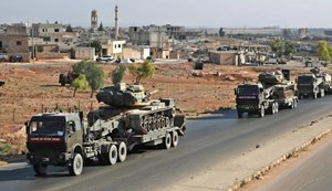 Đoàn xe quân sự Thổ Nhĩ Kỳ bị tấn công ở Syria