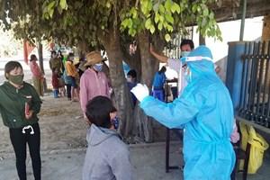 Gia Lai: Phát hiện 4 trường hợp F1 dương tính với SARS-CoV-2