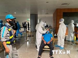 TP HCM: Thêm 2 ca Covid-19 liên quan đến sân bay Tân Sơn Nhất