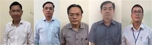 Những quan chức nào cùng bị khởi tố với ông Trần Vĩnh Tuyến?
