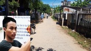 Quảng Nam: Khởi tố đối tượng đâm chết thanh niên bằng kéo