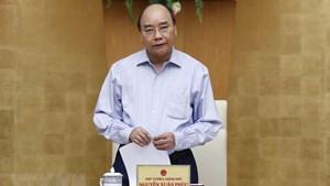 Thủ tướng: 'Mạnh tay' xử lý ổ dịch tại Hà Nội, TP HCM