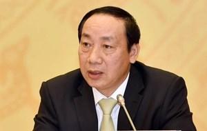Bắt giam cựu Thứ trưởng Bộ GTVT Nguyễn Hồng Trường